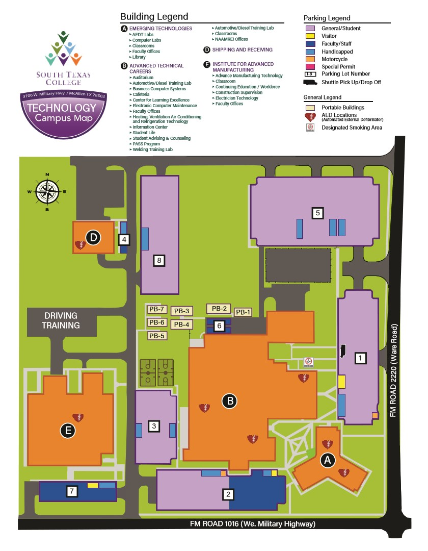 Campus Map Campus Security South Seattle College Oukas Info